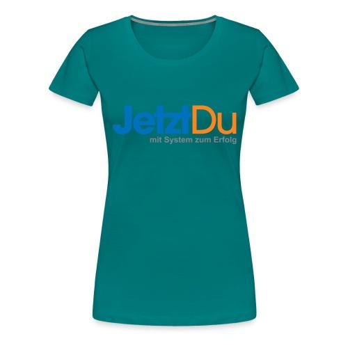 JetztDuLogo ArtWork1 - Frauen Premium T-Shirt