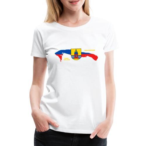 Wangerooge Insel Nordsee Urlaub - Frauen Premium T-Shirt