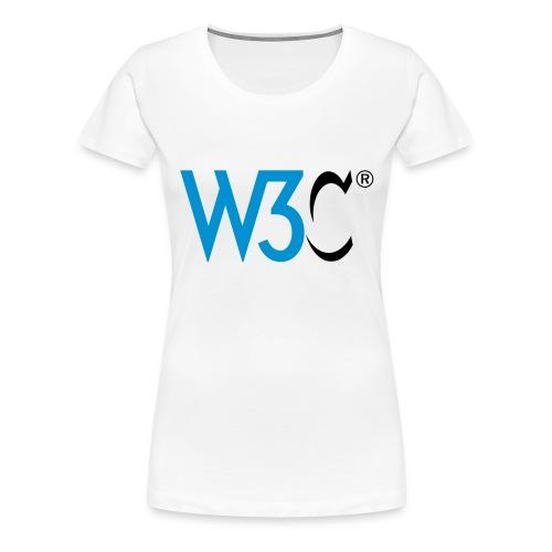 w3c - Women's Premium T-Shirt