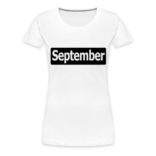 september3 - Frauen Premium T-Shirt