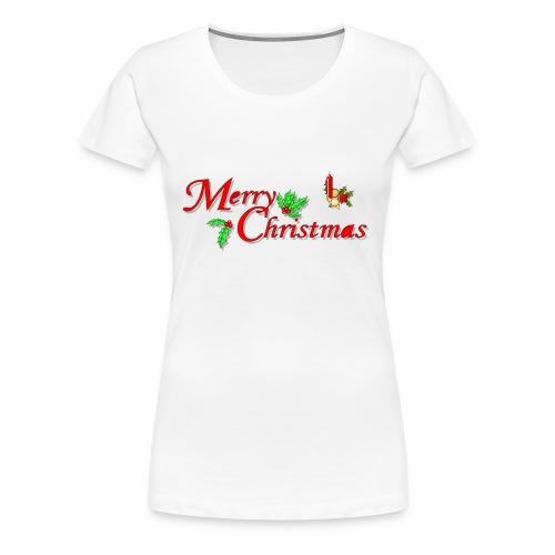 -Merry Christmas- - Frauen Premium T-Shirt