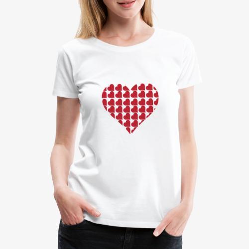 Cuoricini-love-valentine-day-heart - Maglietta Premium da donna