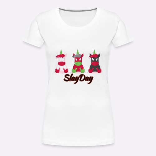 SlayDay - Women's Premium T-Shirt