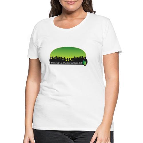 Svenska Cannabisfrämjandet - Premium-T-shirt dam