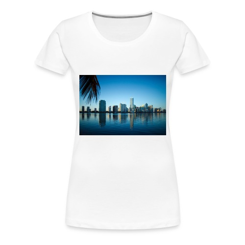 miami building very beutiful - T-shirt Premium Femme