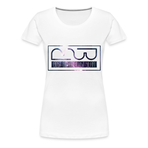 Cap logo Purple - Women's Premium T-Shirt