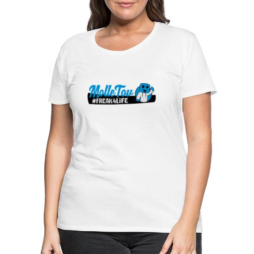 Nyt Logo4 - Dame premium T-shirt
