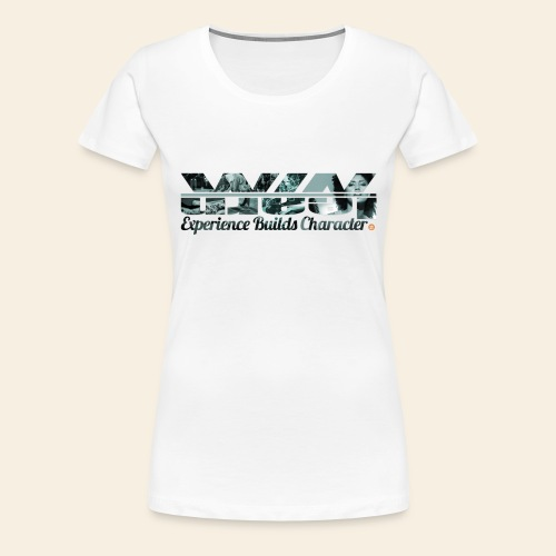 Female Hiphop Elements Logo Tee - Vrouwen Premium T-shirt