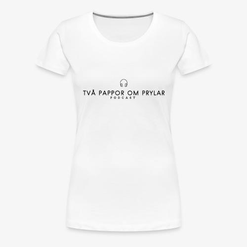 2POP - Svart - Premium-T-shirt dam