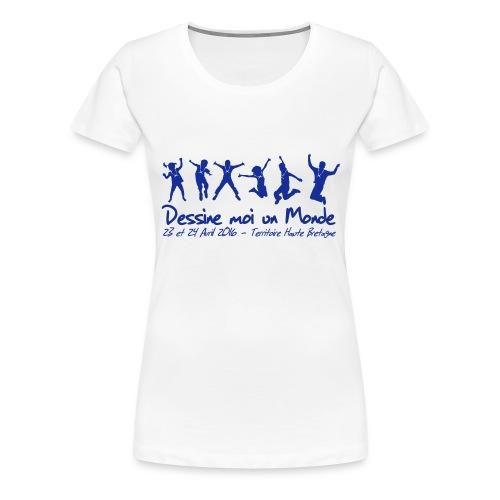logo wet 2016 sp - T-shirt Premium Femme