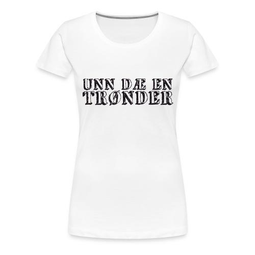 unndae - Premium T-skjorte for kvinner