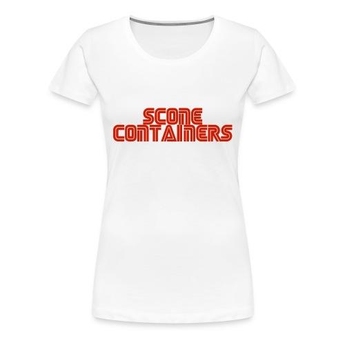 SconeContainers - Frauen Premium T-Shirt