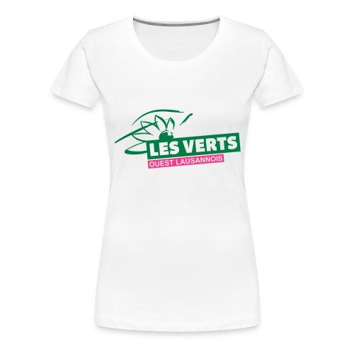 Les Verts OL normal - T-shirt Premium Femme