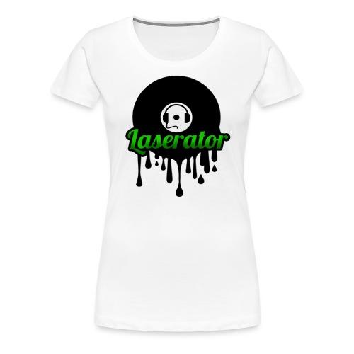Laserator Logo - Frauen Premium T-Shirt