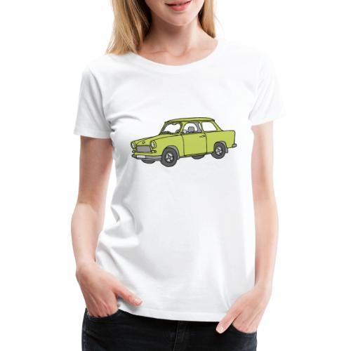 Trabi, Trabant (baligrün) - Frauen Premium T-Shirt