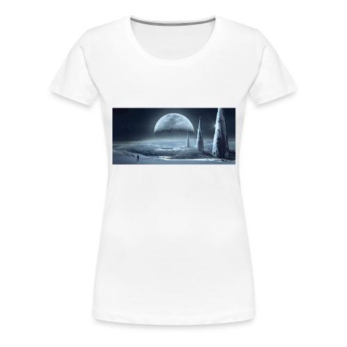 fantasy mond - Frauen Premium T-Shirt