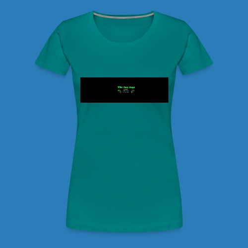 tetete-png - Dame premium T-shirt