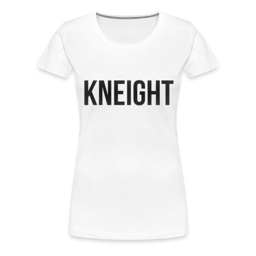 Brand KNEIGHT Logo - Dame premium T-shirt