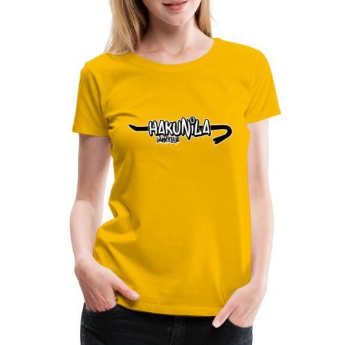 Hakunila lähiötyyli - Naisten premium t-paita