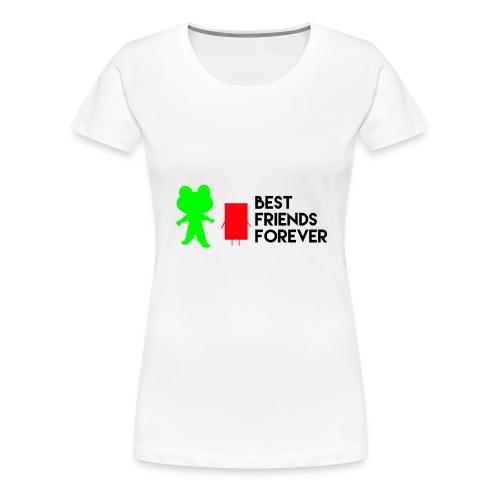 Best friends forever - Women's Premium T-Shirt