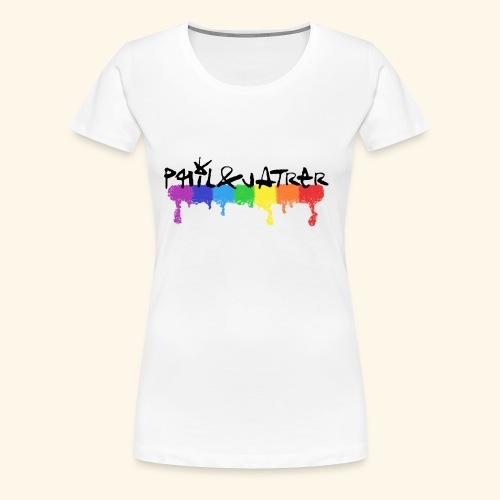 Rainbow Collection by Phil&Jatrer - Frauen Premium T-Shirt