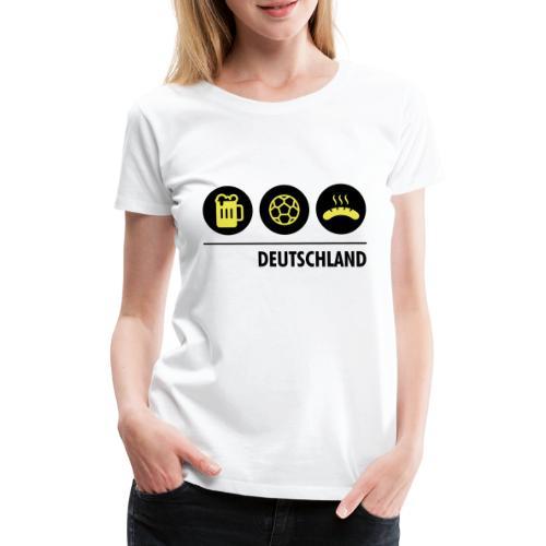 Circles - Germany - Women's Premium T-Shirt
