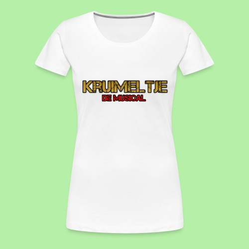 Hoesje I-phone 6/6s Kruimeltje de Musical - Vrouwen Premium T-shirt
