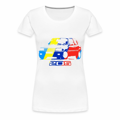 illustration 205 v1 - T-shirt Premium Femme