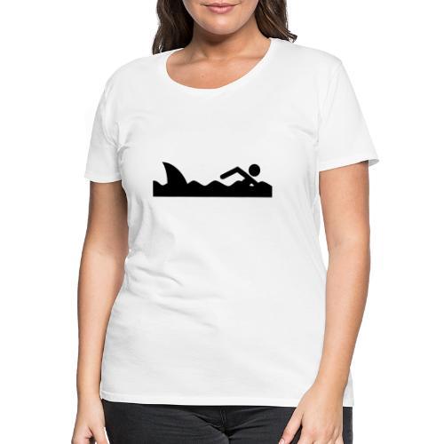 Haifischfutter - Frauen Premium T-Shirt