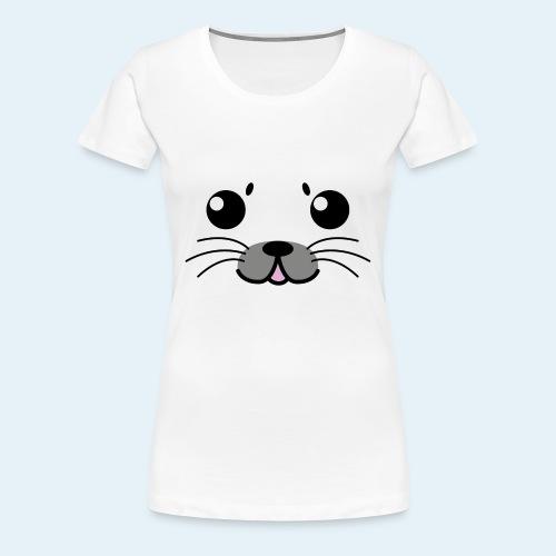 Foca bebé (Cachorros) - Camiseta premium mujer