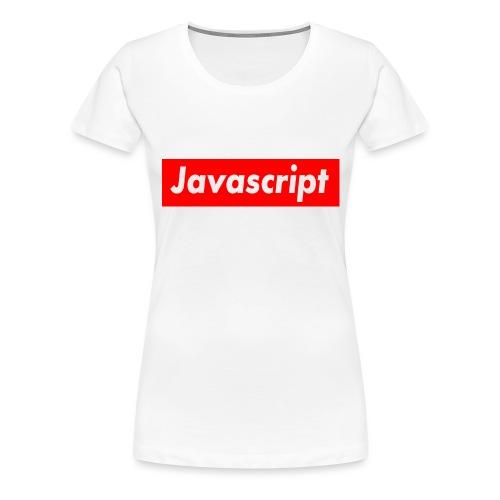 Javascript - Women's Premium T-Shirt