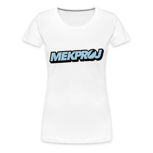 Blue_trans - Women's Premium T-Shirt