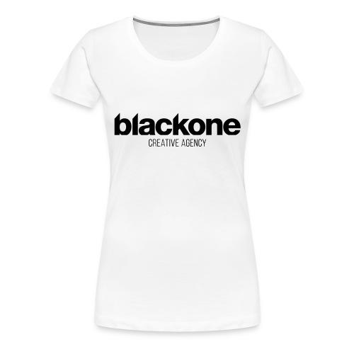 Camiseta negra blackone - Camiseta premium mujer