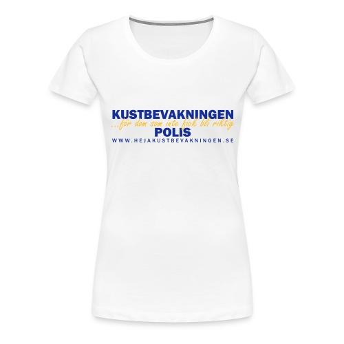 KBV För dom som inte fick bli riktig polis - Premium-T-shirt dam