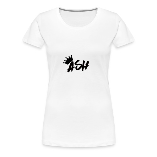 Ash Gautam T-SHIRT//YOUTUBE MERCHANDISE - Women's Premium T-Shirt