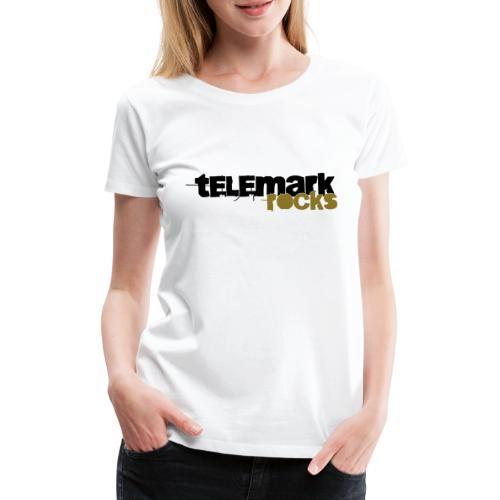 Telemark rocks! - Frauen Premium T-Shirt