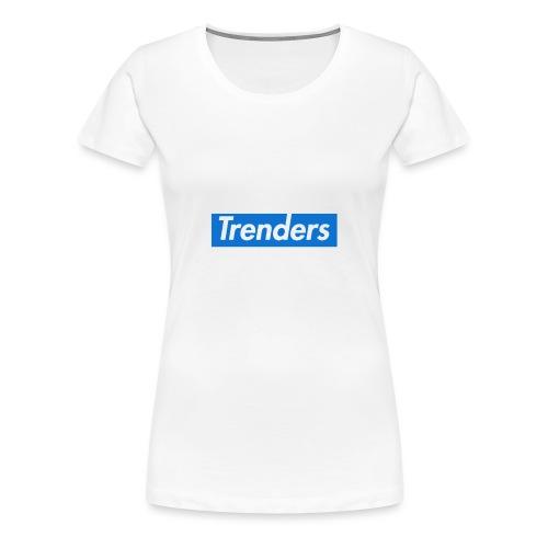 logo oficial trenders grande - Camiseta premium mujer