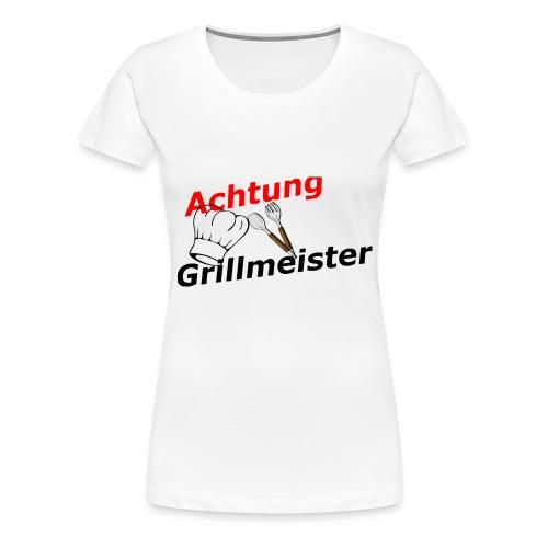 Grillmeister - Frauen Premium T-Shirt