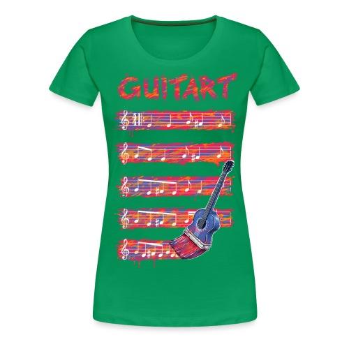 GuitArt - Women's Premium T-Shirt