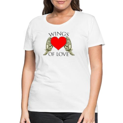 wings of love - Women's Premium T-Shirt