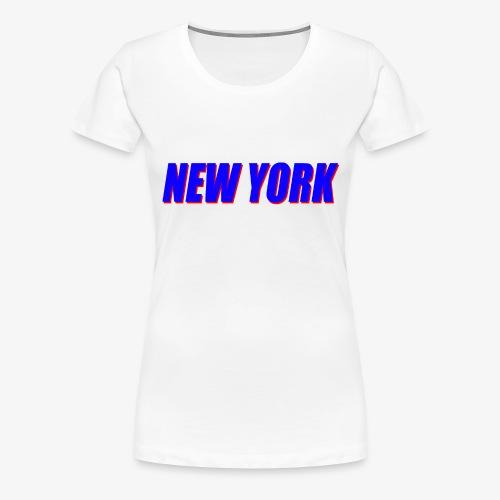 Giants - New York - Women's Premium T-Shirt