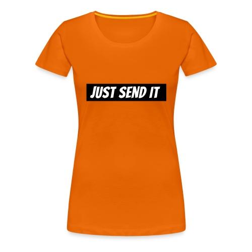 just send it logo - Women's Premium T-Shirt