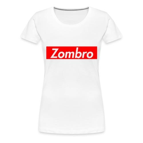 zombreme png - Dame premium T-shirt