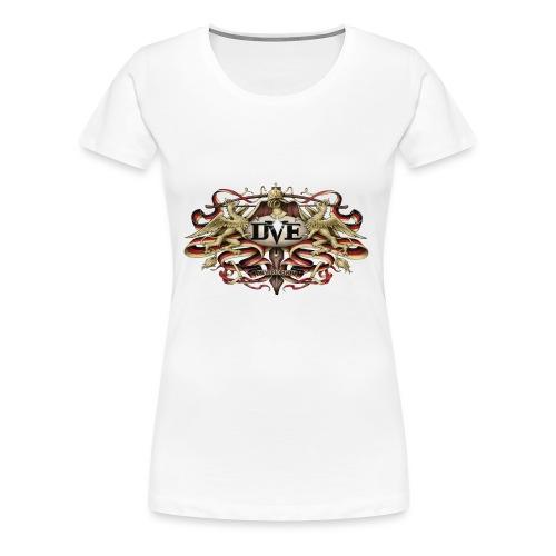 DVE Logo 01 - Das Wappentier - Frauen Premium T-Shirt