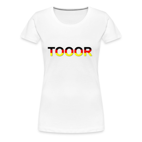 TOOOR-Schatten-transparen - Frauen Premium T-Shirt