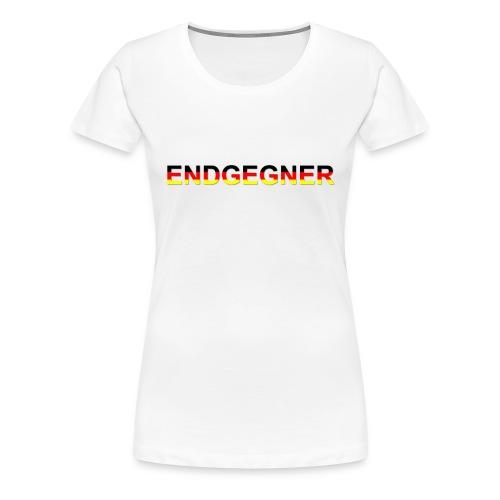 ENDGEGNER - Frauen Premium T-Shirt