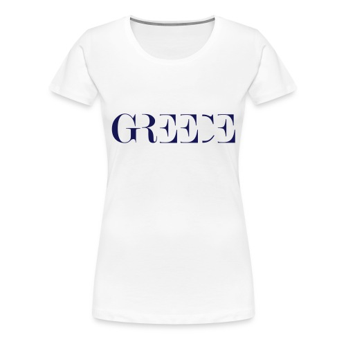 GREECE - Frauen Premium T-Shirt