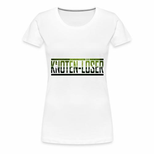 KNOTEN-LÖSER - Vrouwen Premium T-shirt