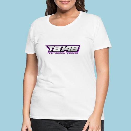 Tob Logo Lila - Frauen Premium T-Shirt