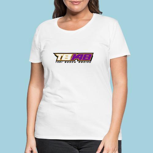 Tobi Logo schwarz - Frauen Premium T-Shirt